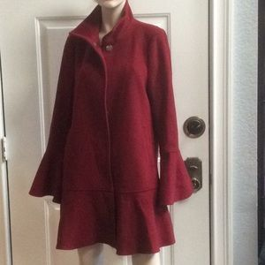 💕new Joie women's knee length coat Sz L
